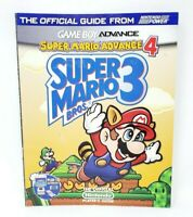 Super Mario Advance 4 Bros. 3 Official Nintendo Player's Guide Strategy Guide