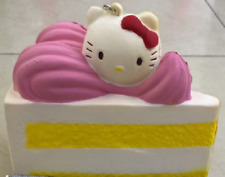 USA SELLER Squishy Toys Hello Kitty CAKE Slice Scented Slow Rise Soft Kids