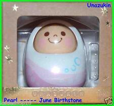 Bandai Unazukin Doll - June Pearl Birthstone Version w/ Card, Stone