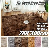 32x20 Solid Plush Shag Area Rug Soft Fluffy Floor Bedroom Carpet Washable Mat US