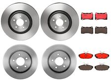 Brembo Front and Rear Brake Kit Ceramic Pads PVT Disc Rotors For Ford Mustang GT
