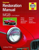 MGB & MGBGT Restoration Manual (2nd Edition) H607 NEW