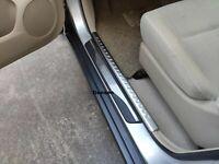 For Mazda 3 Accessories Car Door Sill Cover Scuff Plate Protectors Strip Guard