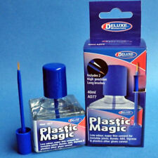 Deluxe Materials Plastic Magic Liquid Solvent Glue Cement 40ML Bottle AD77