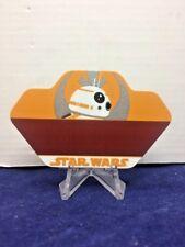 Disney Star Wars BB-8 Name Tag Pin - RARE Has Not Been Engraved