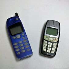 Nokia Cell Phones - Nokia Model 2260 and Nokia Model 5601i - Vintage Lot of 2