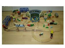 Thomas the Tank Engine Tidmouth Sheds Deluxe Wooden Set, 26 Trains/Vehicles +++