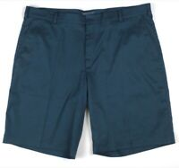 mens teal NIKE GOLF shorts flat front 509179 sport stretch 40 x 11