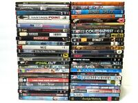 Lot of 53 Bulk Used DVD Mixed Wholesale Movie DVDs No Duplicates