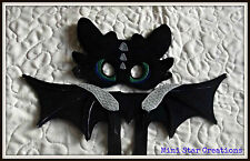 Handmade TOOTHLESS Mask & 35cm Dragon Wings - How to Train Your Dragon