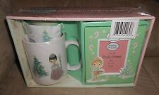 Precious Moments Holiday Gift Set - Mug, Coca and Photo Frame - New, Sealed