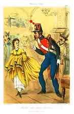 """Draner's Militaires - """"FRANCE 1863 - GARDE DE PARIS"""" - Hand-Col'd Litho - 1862"""