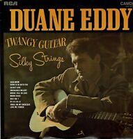 Duane Eddy Twangy Guitar Silky Strings Vinyl 33 rpm LP RCA Camden CDS1072