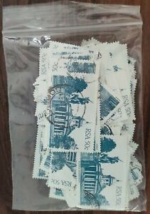 South Africa 1982-7, 50c Architecture x 100 Used Stamps #W1288