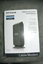 *New Sealed* NETGEAR CM600-100NAS Cable Modem DOCSIS 3.0 24x8 960Mbps