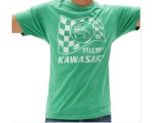 Kawasaki Heritage Flag T-Shirt Green K000-2571-GN