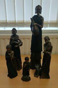 Soul Journeys Maasai Figurines - Mosi, Kipusa, Kumbuko, Chiumbo, Ushairi