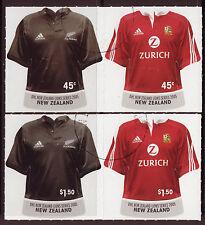 Nueva Zelanda 2005 Lions Rugby Serie Juego De 4 Fine Used