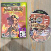 Jade Empire: Limited Edition 2 Disc Set Xbox, 2005 Xbox