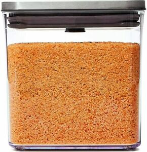 Oxo Pop Multi Purpose Square Storage Container with Steel Lid 2.6 L 3118300