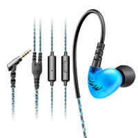 Sport Super Bass Earphone HIFI In Ear Earbuds Stereo Headset With Mic Headphones