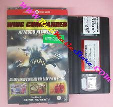 VHS CARTONATA film ATTACCO ALLA TERRA WING COMMANDER CECCHI GORI (F151) no dvd