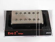 DiMarzio Regular Spaced Evo 2 Bridge Humbucker W/Nickel Cover DP 215