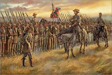 Mark Maritato Civil War ALMOST HOME Battle of Franklin Signed Giclée Art Print