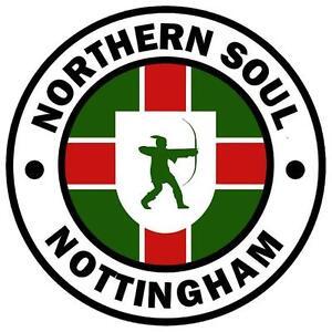 Nottingham - Northern Soul - Fun Nouveauté Voiture Disque Taxe Support - Tout