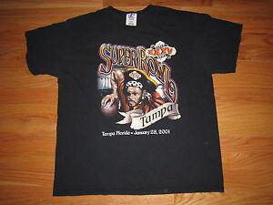 SUPER BOWL XXXV BALTIMORE RAVENS vs NEW YORK GIANTS (LG) T-Shirt