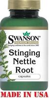 Swanson STINGING NETTLE ROOT - 100 capsules 500 mg - RESPIRATORY & PROSTATE AID