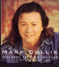 MARK COLLIE Three Words two Hearts one Night PROMO CD