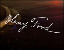 HENRY FORD Signatur Adesivo decalcomania vinile, FOCUS ST RS Mondeo Fiesta
