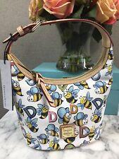 Dooney & Bourke Limited Bumble Bee Bucket Bag Purse Handbag