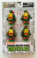 Minimates Teenage Mutant Ninja Turtles Donatello Michelangelo Leonardo Raphael