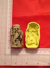 Silicone Mold Old Chinese Man A820 For Candy Chocolate Fondant Wax Soap