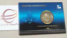coin card 2 euro 2017 BU ESTONIA Maapäev 1917 Indipendenza Eesti Estonie Estland