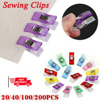 20/40/100/200pcs Clips Clamps For Quilting Fabric Craft Knitting Sewing Crochet