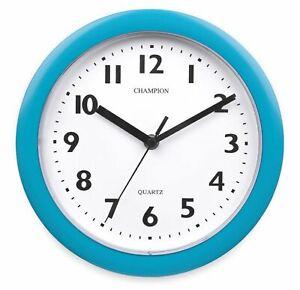 Champion Quartz 225mm 22.5cm Round Wall Clock