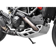 Ducati Hyperstrada Hypermotard 821 BJ 2013-15 Unterfahrschutz Motorschutz silber