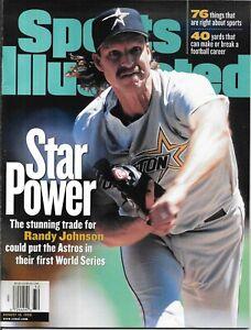 Sports Illustrated 1998 RANDY JOHNSON Houston Astros Baseball NEWSSTAND Mint NIB