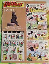 VAILLANT N°817 1961 Placid Muzo et Pif : l'Ours ou les mésaventures de Francis B