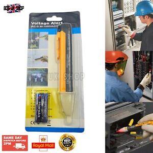 Voltage Tester Pen Electric Detector 1AC-D 90-1000VAC Flashing Alarm & LED Light