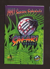Detroit Safari--1997 Pocket Schedule--GMC Safari--CISL