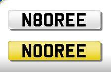 NOOR UK CHERISHED PRIVATE NUMBER PLATE NOOREE NOORIE NUR NOOREEN