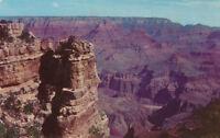 Chrome Postcard 1956 Post A623 Grand Canyon National Park AZ Moran Point Harvey