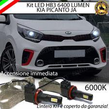 KIT FULL LED HB3 KIA PICANTO JA 6000K BIANCO CANBUS 6400 LUMEN NO AVARIA
