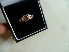 Ladies Victorian style ring in 9ct rose gold unique design- Size M