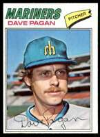 1977 Topps Set Break Dave Pagan Seattle Mariners #508