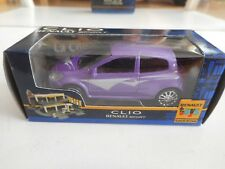 Norev Renault Clio Sport in Purple on 1:64 in Box